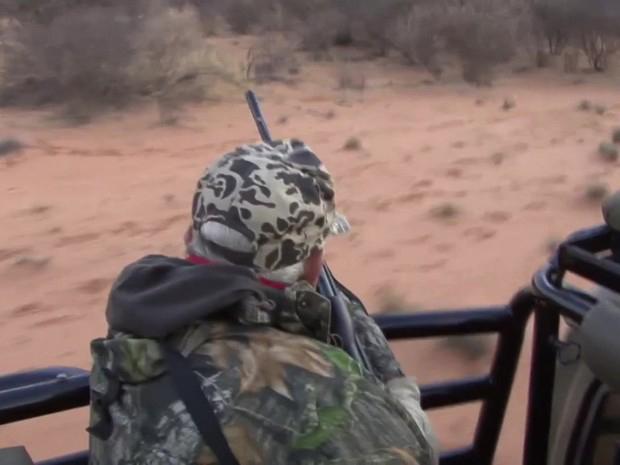 Defensores das reservas dizem que suas fazendas são uma alternativa à caça ilegal de animais selvagens (Foto: BBC)